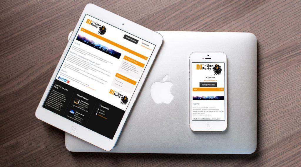 Website DJ The Lion Party
