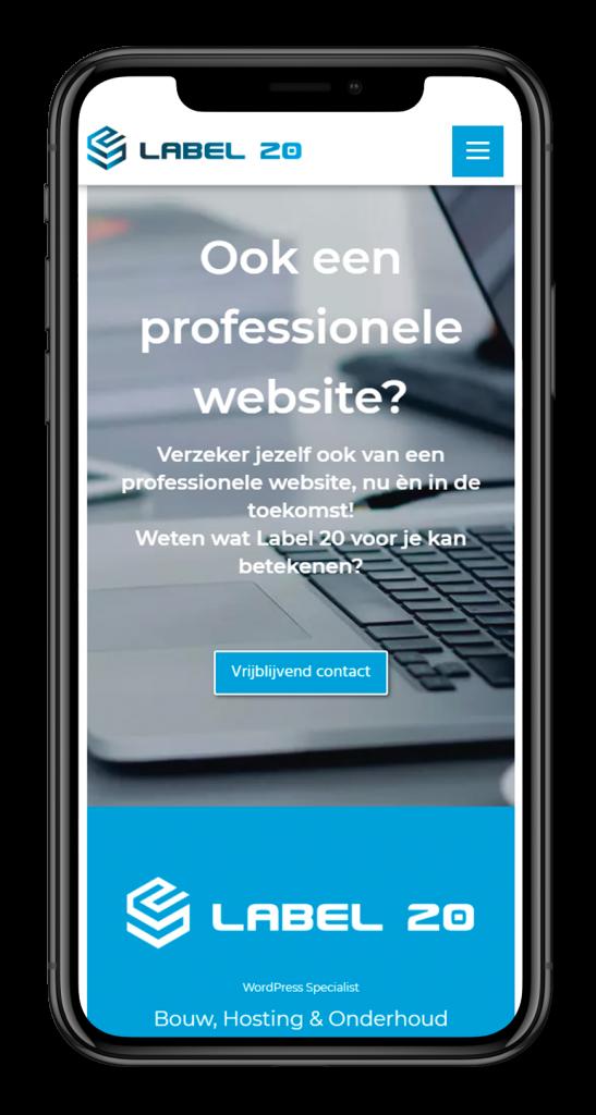 WordPress website, maatwerk webdesign